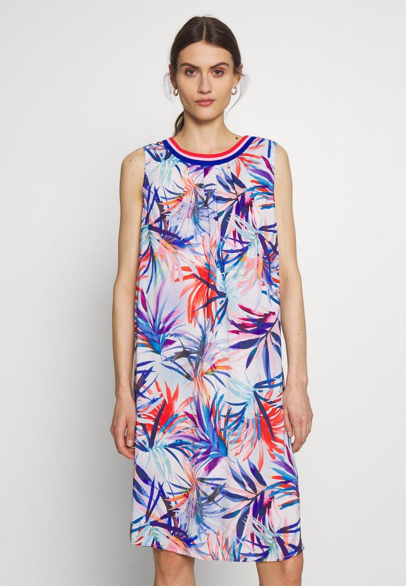 Emily van den Bergh - Day dress - red/blue