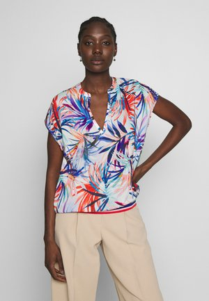 Blouse - red/blue