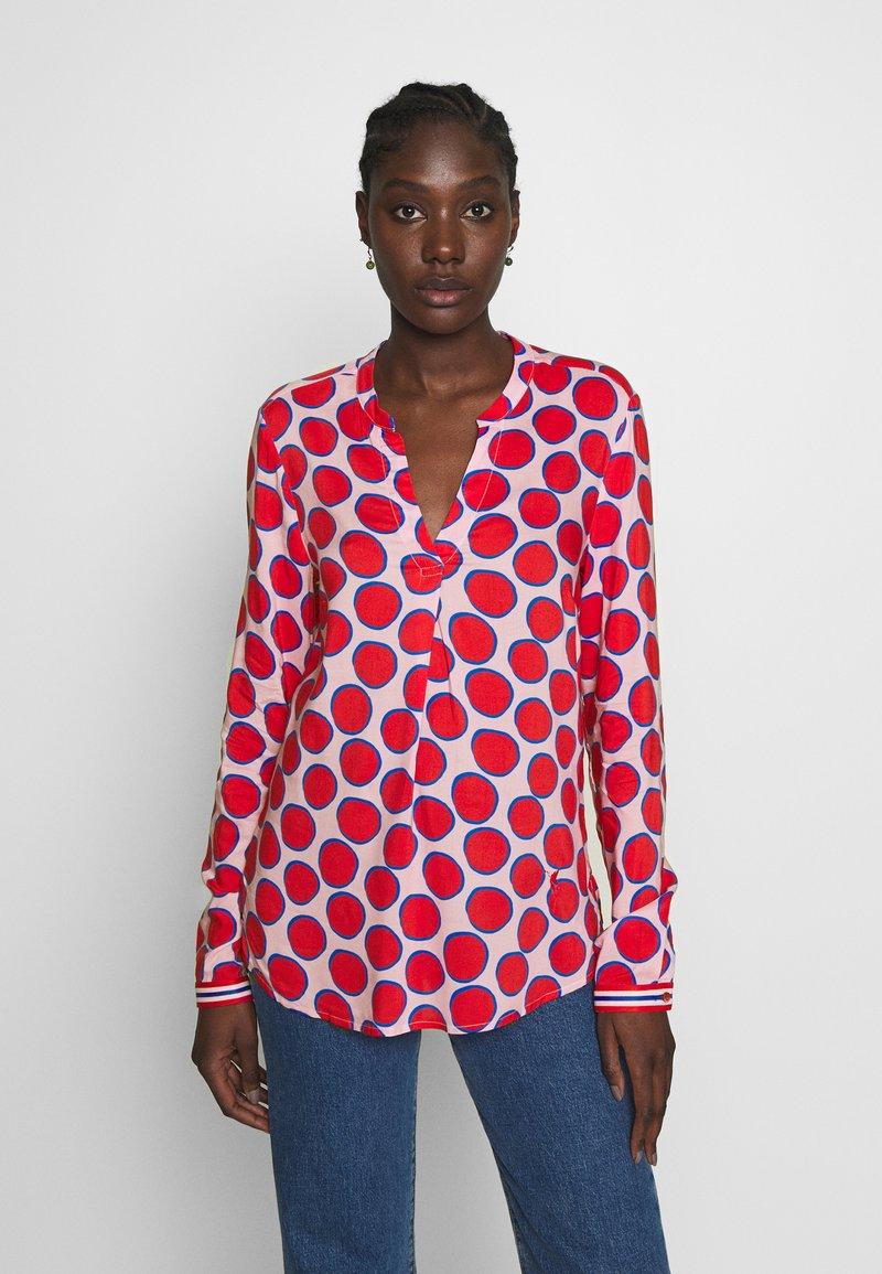 Emily van den Bergh - Blouse - red rosé