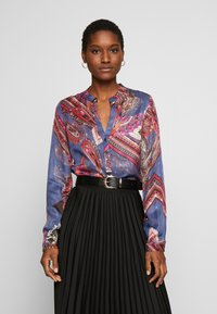 Emily van den Bergh - Blouse - red navy - 0