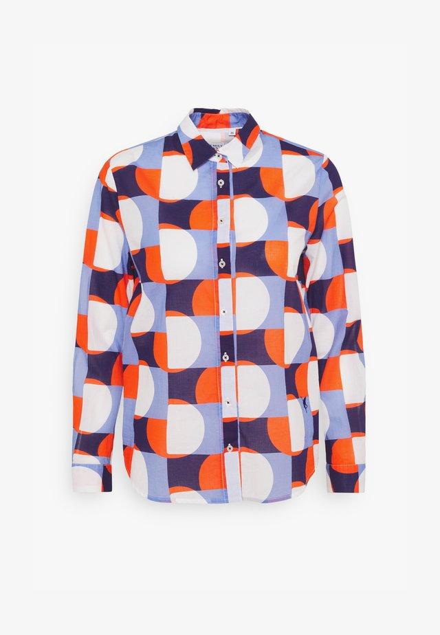 Bluser - blue/orange