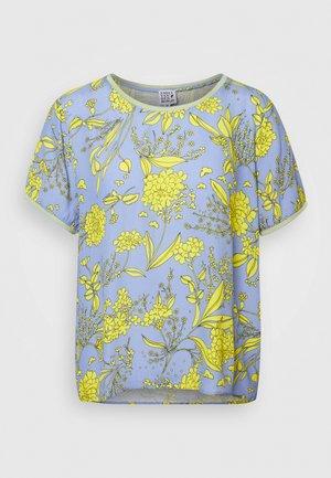 Blouse - yellow/blue