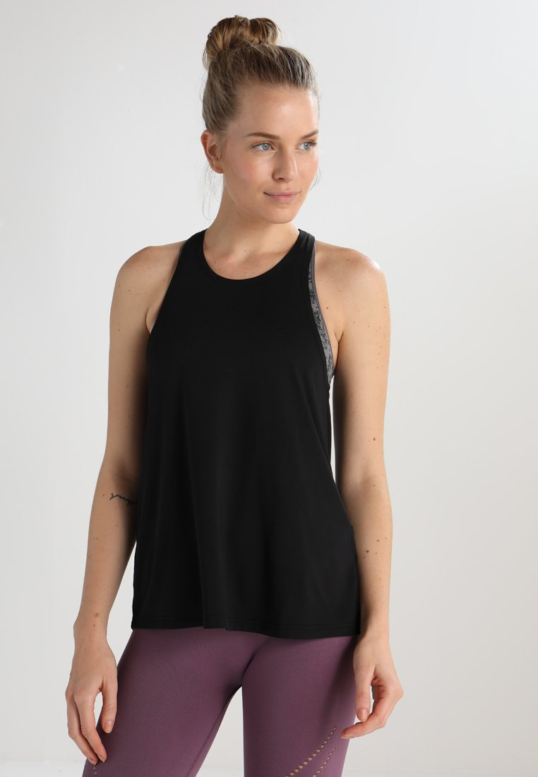 Even&Odd active - T-shirt sportiva - jet black