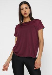 Even&Odd active - T-shirts - grape wine - 0