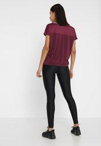 Even&Odd active - T-shirts - grape wine - 2