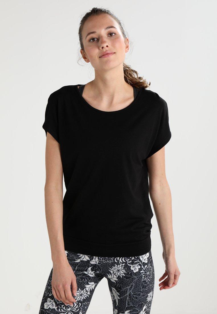 Even&Odd active - T-shirts basic - jet black