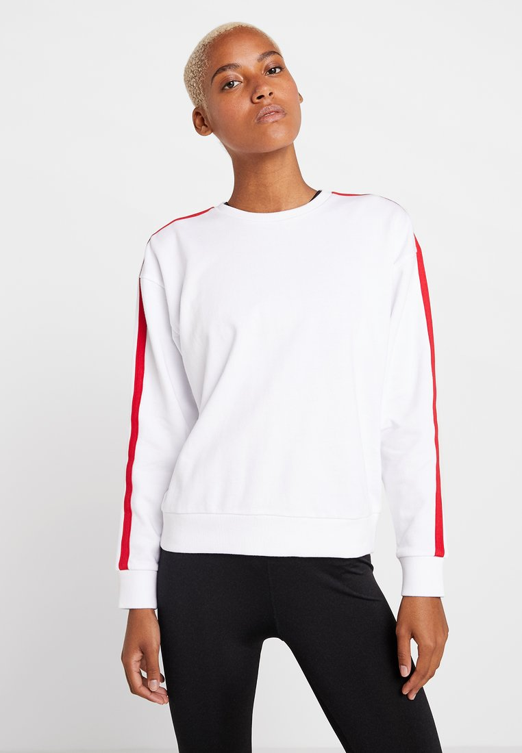 Even&Odd active - Sweatshirt - white