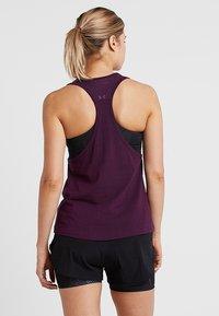 Even&Odd active - Funkční triko - purple - 2
