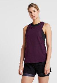 Even&Odd active - Funkční triko - purple - 0