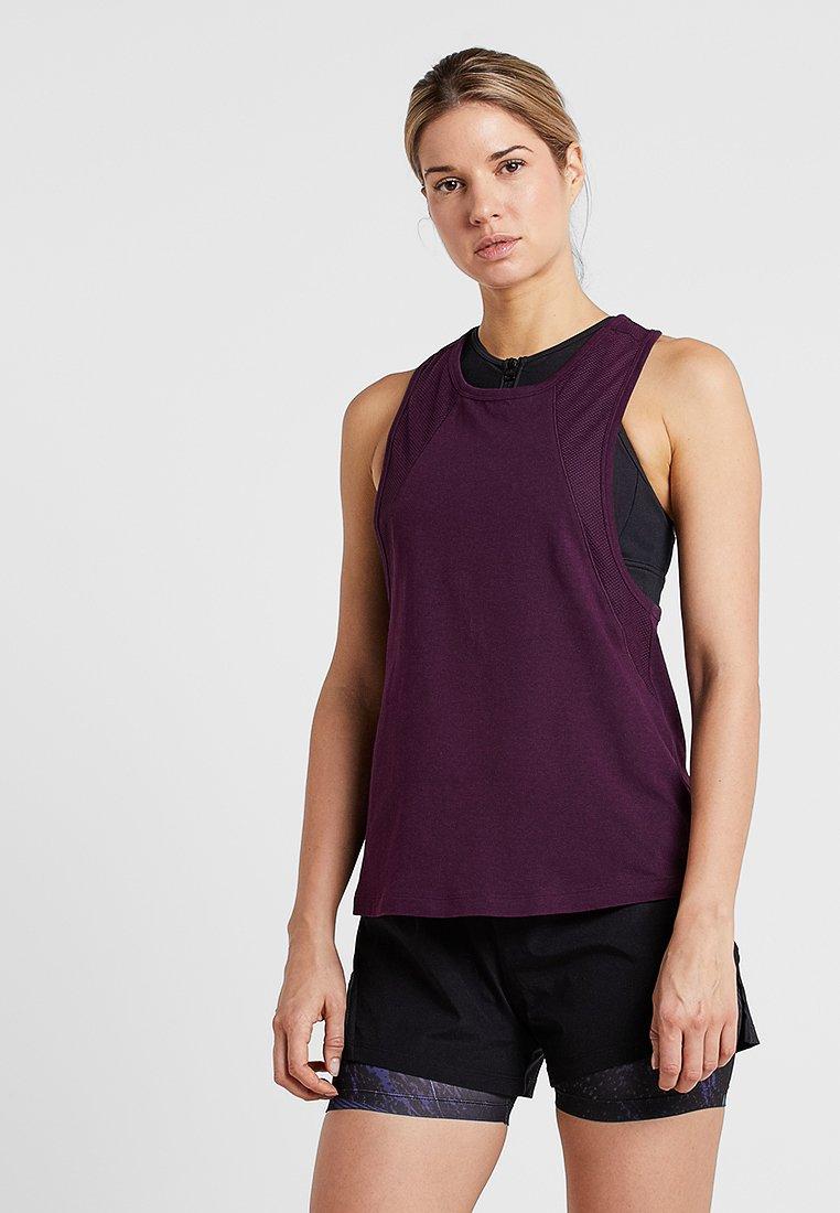 Even&Odd active - Funkční triko - purple