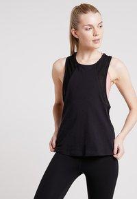Even&Odd active - Treningsskjorter - black - 0