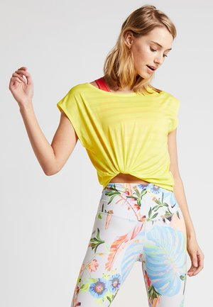 T-shirts med print - yellow