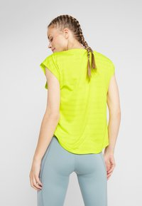 Even&Odd active - Camiseta estampada - light yellow - 2
