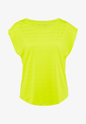 T-shirt imprimé - light yellow