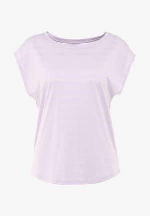 T-shirts med print - lilac