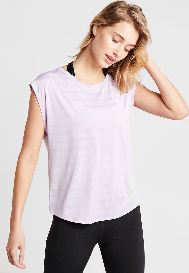 Even&Odd active - T-Shirt print - lilac