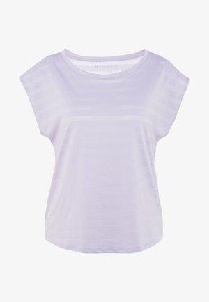 Camiseta estampada - mauve