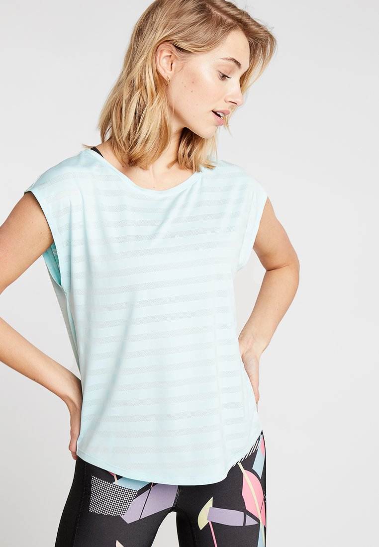 Even&Odd active - T-Shirt print - mint