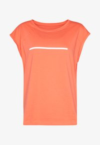 Even&Odd active - T-shirts print - coral - 3