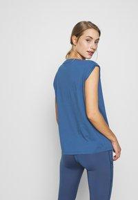 Even&Odd active - T-shirts med print - dark blue - 2