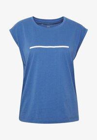 Even&Odd active - T-shirts med print - dark blue - 3