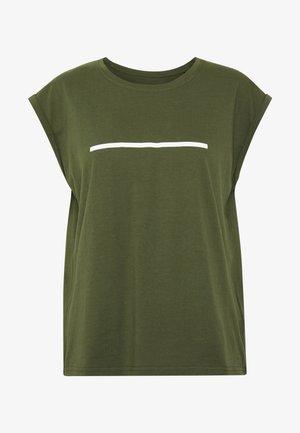 Camiseta estampada - olive