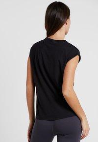 Even&Odd active - T-shirts med print - black - 2