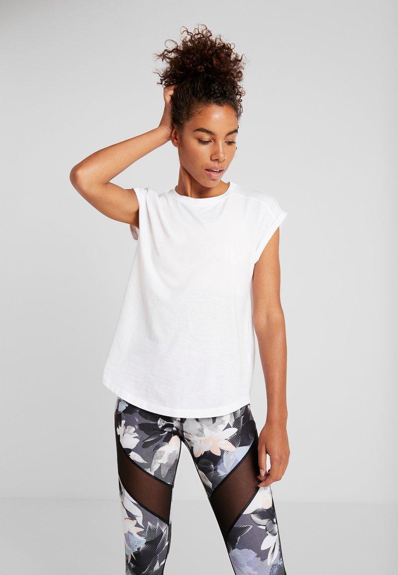 Even&Odd active - Funkční triko - white