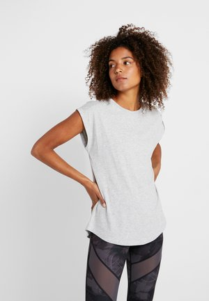 Sports shirt - mottled grey