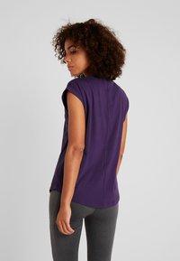 Even&Odd active - Camiseta de deporte - purple - 2