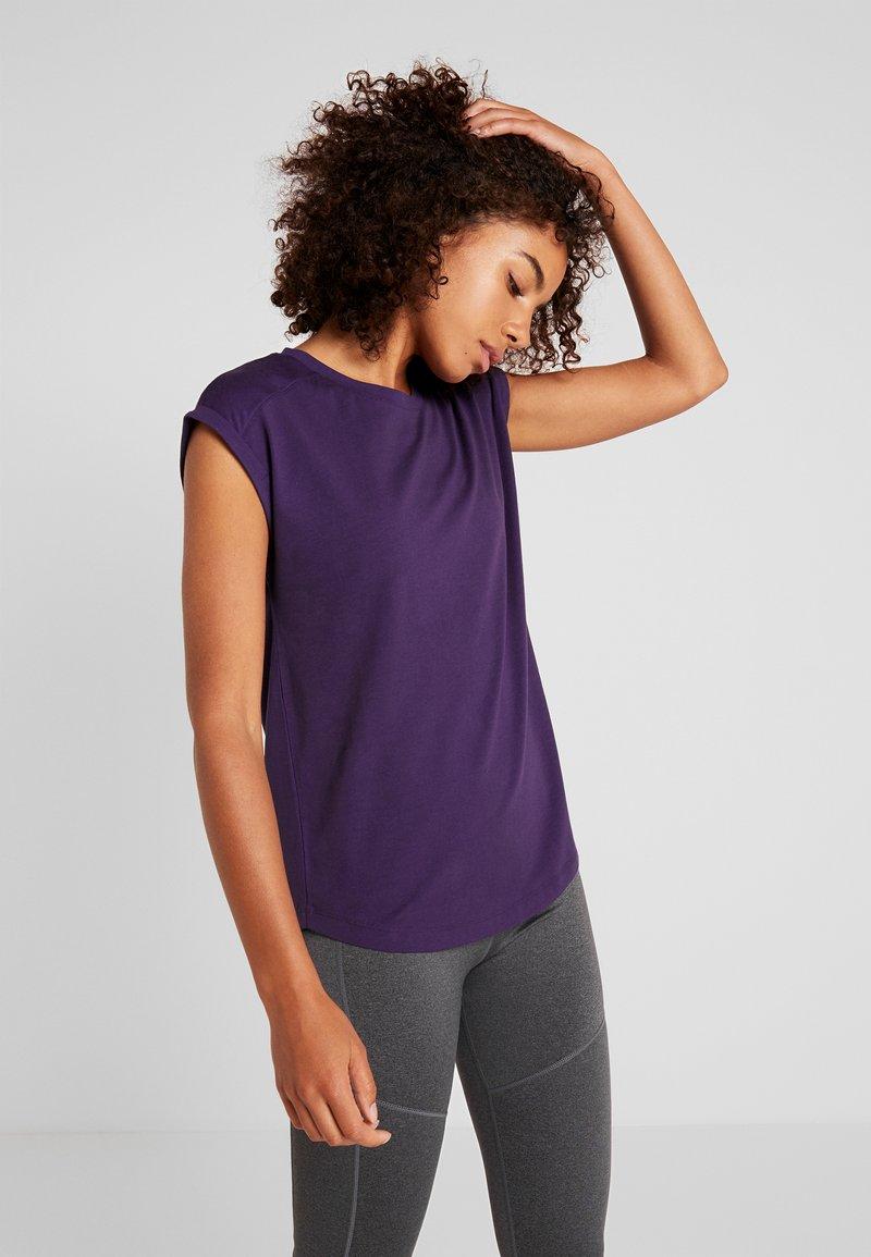 Even&Odd active - T-shirt sportiva - purple