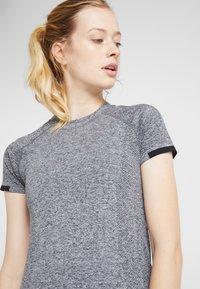 Even&Odd active - Camiseta de deporte - grey melange - 4