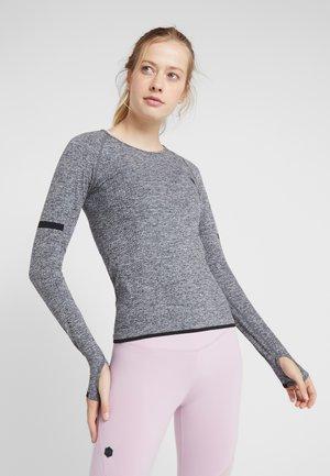 SEAMLESS LONG SLEEVE - T-shirt à manches longues - grey melange