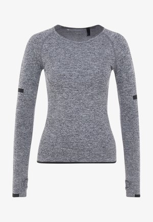 SEAMLESS LONG SLEEVE - T-shirt à manches longues - grey melange