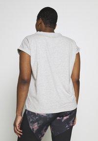 Even&Odd active - T-shirts basic - mottled grey - 2