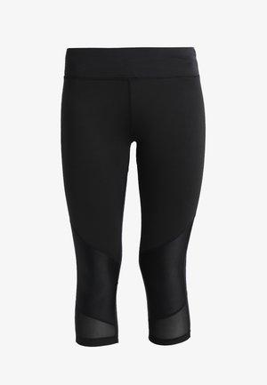 3/4 sportovní kalhoty - jet black