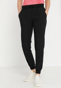 Even&Odd active - Pantaloni sportivi - black - 0