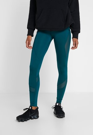 Tights - turquoise