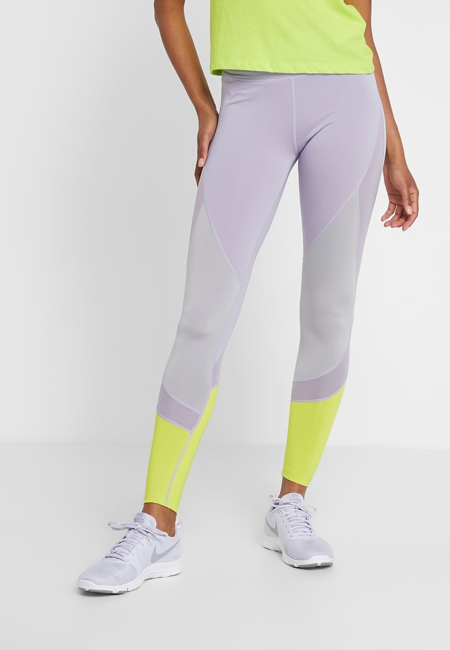 Leggings - mauve/multicolor