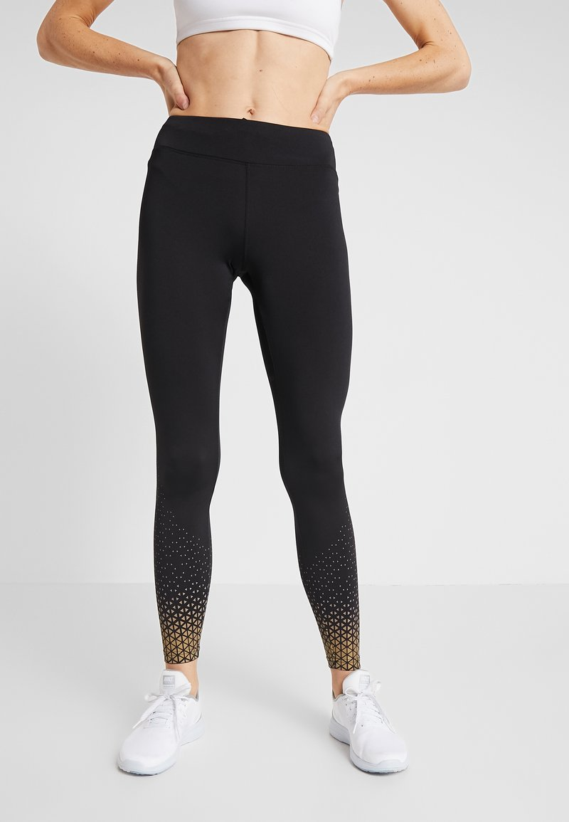 Even&Odd active - Tights - gold/black