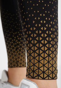 Even&Odd active - Tights - gold/black - 6