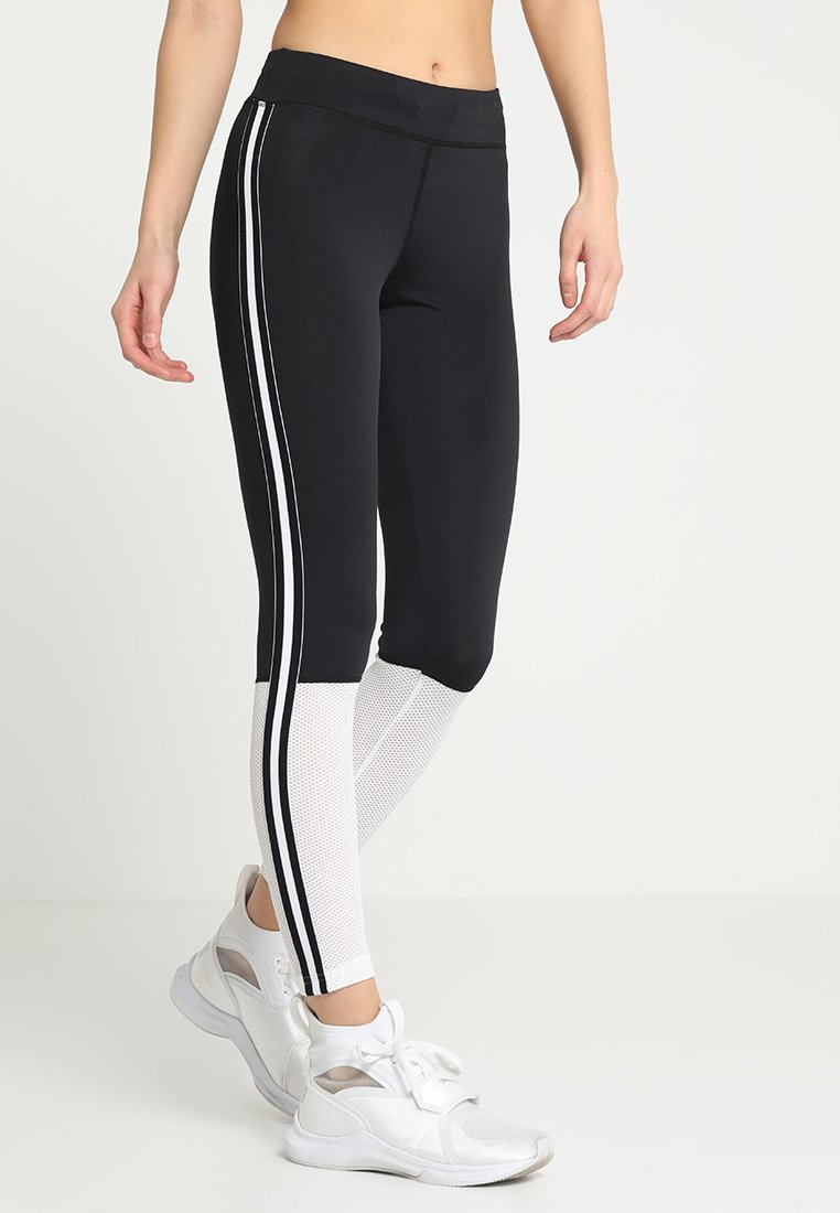 Even&Odd active - Tights - white/black