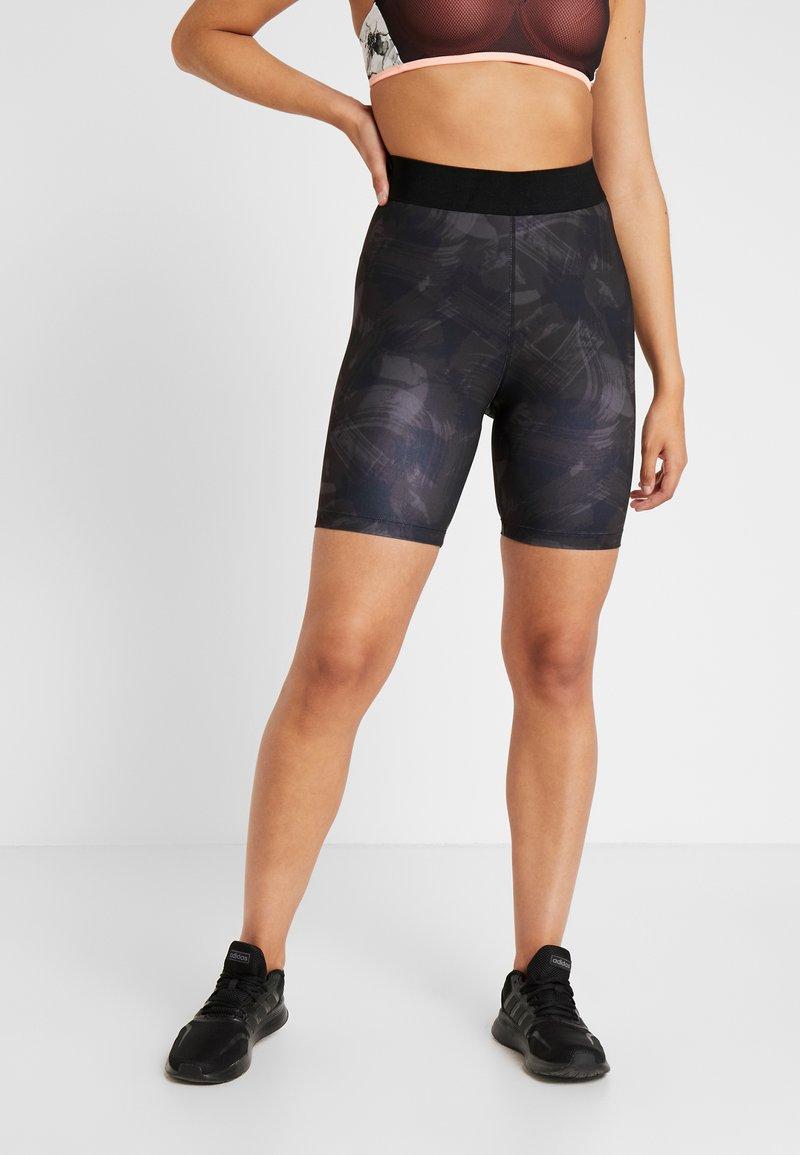 Even&Odd active - Leggings - grey/black