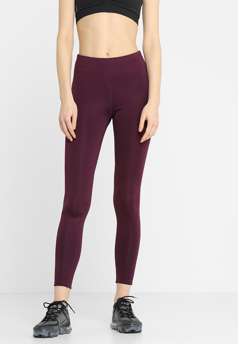 Even&Odd active - Leggings - bordeaux/ black