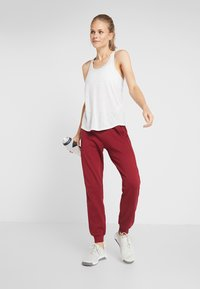 Even&Odd active - Legging - bordeaux - 1