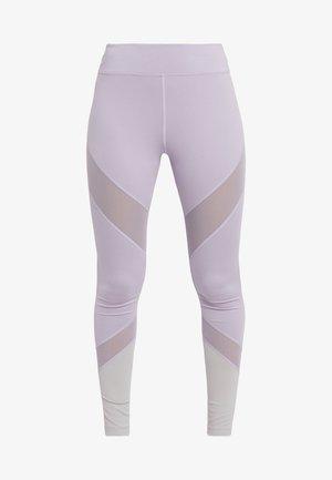 Leggings - silver/lilac