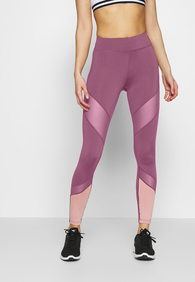 Legging - dark red/pink