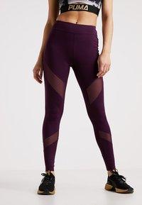 Even&Odd active - Punčochy - purple - 0