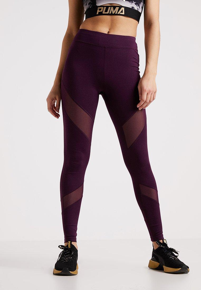 Even&Odd active - Medias - purple