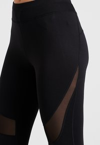 Even&Odd active - 3/4 sports trousers - black - 4
